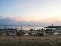 Härlig kust av Bali, Indonesien arkivfoto