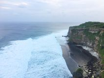 Härlig kust av Bali, Indonesien fotografering för bildbyråer