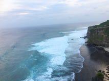 Härlig kust av Bali, Indonesien arkivbilder