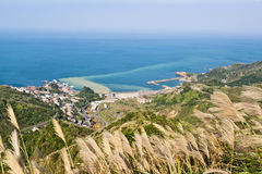 Härlig kust i Taiwan royaltyfria bilder