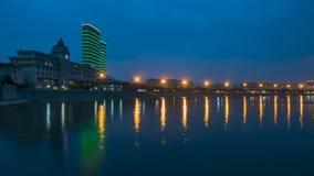Härlig kustlinje av Weihai arkivfoton