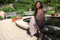härlig kvinna Royaltyfria Bilder