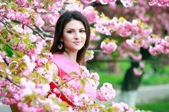 Härlig kvinna Royaltyfria Foton