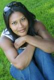 härlig kvinna Royaltyfri Fotografi