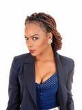 härlig kvinna för afrikansk amerikan Royaltyfria Bilder