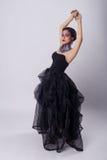 härlig kvinna för skönhetmorgonstående Royaltyfria Bilder
