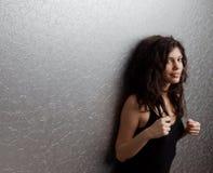 Härlig kvinnastående fotografering för bildbyråer
