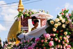 Härlig kvinnaThailand kultur Royaltyfria Foton