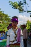 Härlig kvinnaThailand kultur Royaltyfri Foto