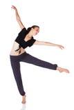 Härlig kvinnlig dansare Royaltyfri Fotografi