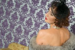 Härlig kvinnlig skuldra Royaltyfri Fotografi