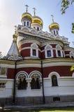 Härlig kyrka arkivbilder