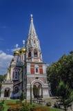 Härlig kyrka arkivbild
