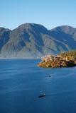 härlig lake Fotografering för Bildbyråer