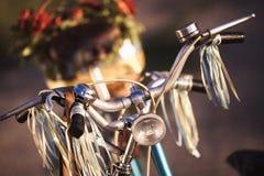 Härlig landskapbild med cykeln Royaltyfri Fotografi