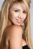 härlig latinamerikansk kvinna royaltyfria bilder
