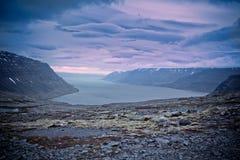 Härlig liggande av Island Royaltyfri Foto