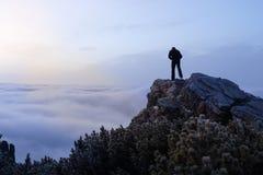 Härlig liggande i bergen Fotografering för Bildbyråer