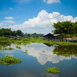 härlig liggande thailand Arkivfoto