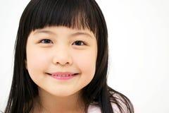 Asiatiska flicka stående Royaltyfria Foton
