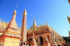 Myanmar tempel Royaltyfri Bild