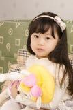 Härlig liten flicka. Royaltyfria Bilder