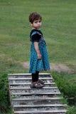 härlig liten flickakashmiri Royaltyfri Foto