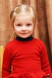 härlig litet barn Arkivbild