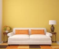 Härlig living-room. Royaltyfria Bilder