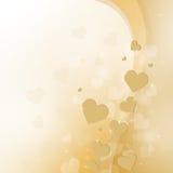 Härlig ljus bakgrund till valentin dag Royaltyfri Fotografi