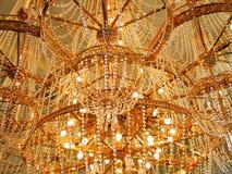 härlig ljuskrona Royaltyfri Bild