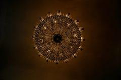 Härlig ljuskrona i Barcelona Royaltyfri Fotografi