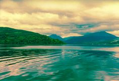 Härlig Loch Ness arkivbild