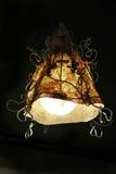 Härlig lyxig inre belysninglampdekor Arkivfoto