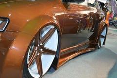 Härlig målad stämd bil Fotografering för Bildbyråer