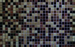Härlig mångfärgad mosaik för mosaiktextur, bakgrund, textur arkivfoto