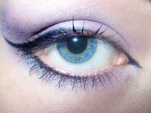 härlig makeup Royaltyfri Fotografi