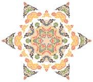 Härlig Mandala Rund dekorativ modell Royaltyfria Foton