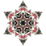 Härlig Mandala Rund dekorativ modell Royaltyfri Foto