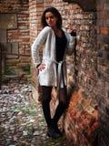 Härlig marockansk flicka i Padua Royaltyfri Fotografi