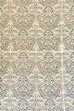 Härlig marockansk islamisk arkitekturbyggnadsdeisgn Royaltyfria Bilder