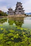 Härlig medeltida slott Matsumoto Fotografering för Bildbyråer