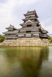 Härlig medeltida slott Matsumoto Royaltyfri Bild