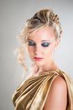 härlig modeflickaglamour Royaltyfria Foton
