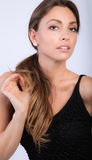 Härlig modell Royaltyfri Fotografi