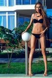 Härlig modell Royaltyfria Bilder