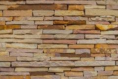 Härlig modell av gammal bakgrund för vägg för dekorativ sten Vinta arkivbilder