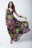 härlig modemodell Royaltyfria Foton