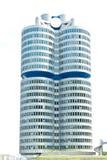 Härlig modern byggnad av affärsmitten Royaltyfri Bild