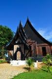 Härlig modern byggnad på baandam i Chiang Rai Royaltyfria Bilder